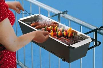 在阳台上烤肉从此不是梦,口水走起!(¯﹃¯)