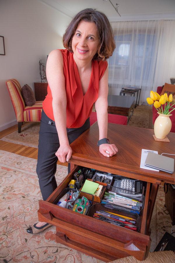 收纳和时间管理专家朱莉·摩根斯顿。