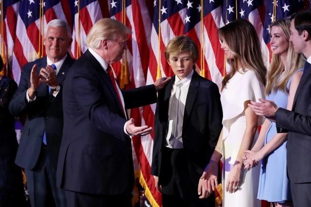 川普赢了大选 却因为儿子犯了愁